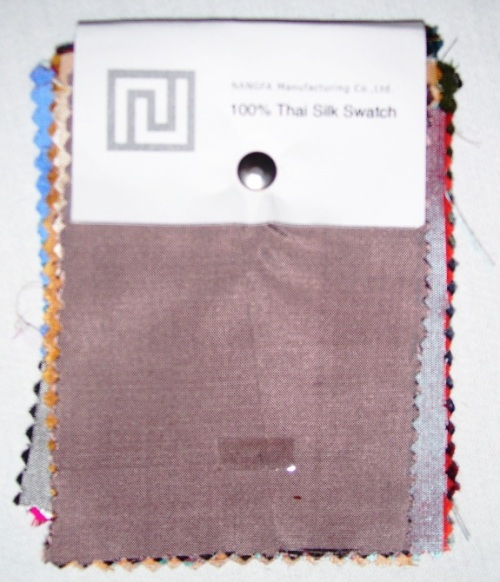 Thai Silk Swatch
