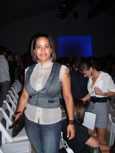 Missy at the Carlos Miele Show