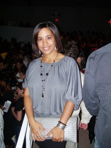 Missy at the Vivienne Tam Show