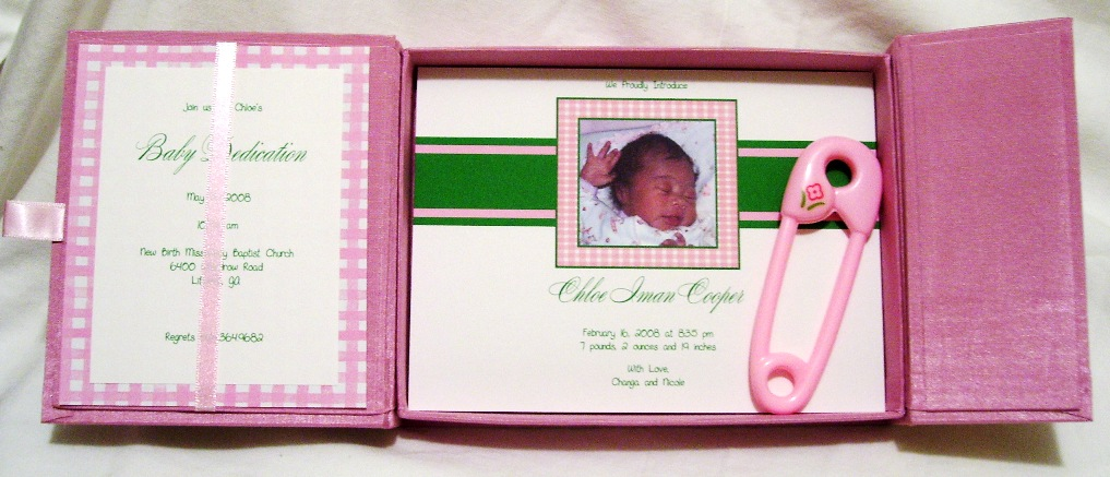 Silk Box – Baby Announcement Boxes