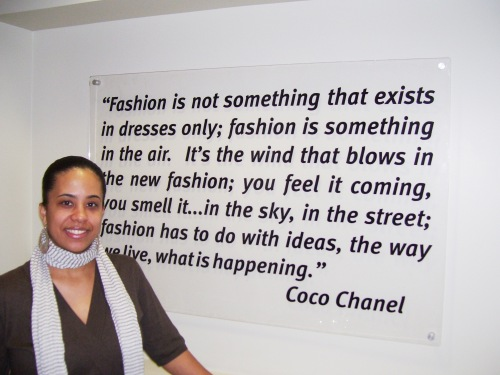My Favorite Coco Chanel Quote                 House of Papier © 2009