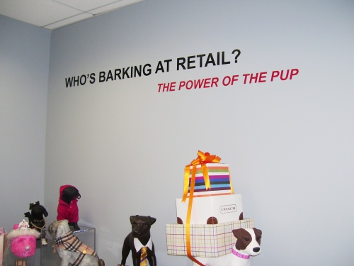 Who's Barking at Retail Display at LIM - House of Papier © 2009