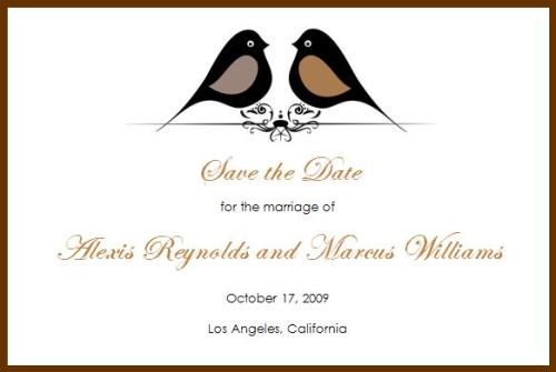 Save the Date © 2009 House of Papier